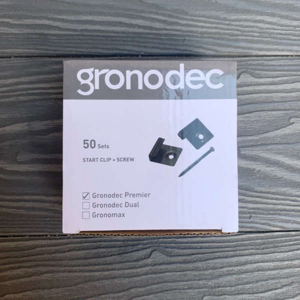 Gronodec Starter Clips and Screws